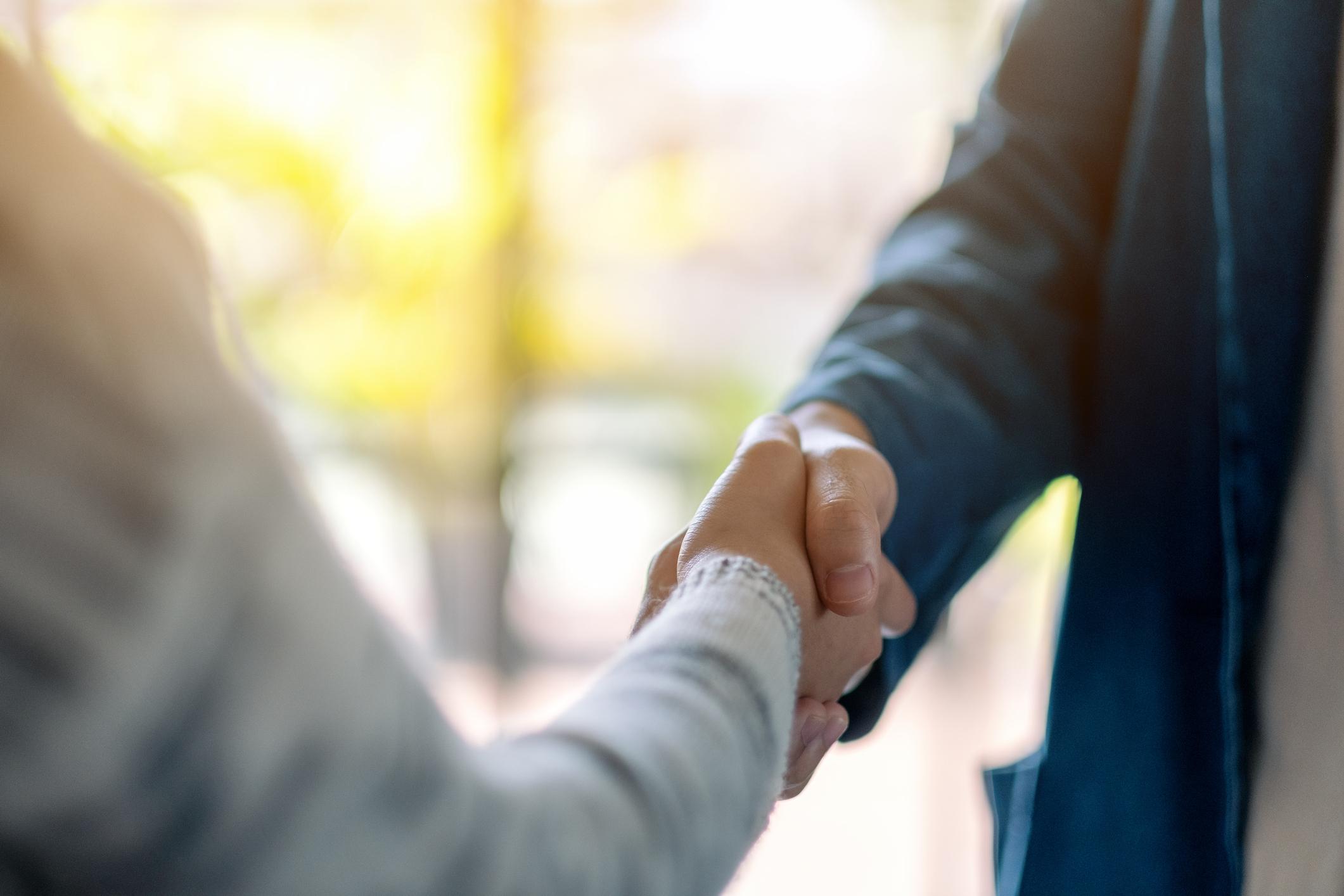 OEM Financing Handshake